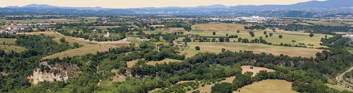 L'altopiano di Vignale - Civita Castellana